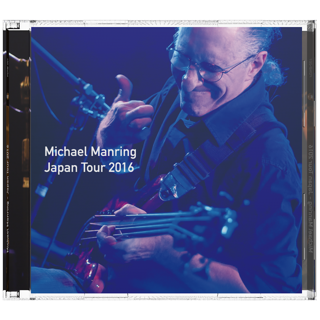 Michael Manring Japan Tour 2016 Day 1 CD Front